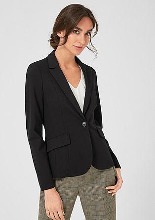 Elegant jersey blazer from s.Oliver
