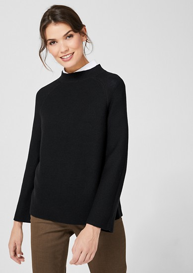 Knit polo neck jumper from s.Oliver