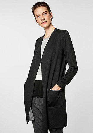 Knit blended wool cardigan from s.Oliver