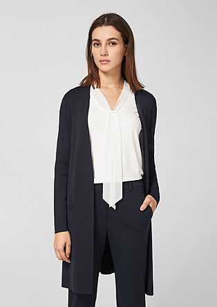 Eleganter Long-Cardigan