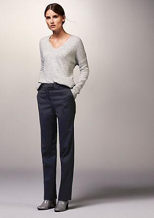 Pantalon finement texturé de s.Oliver