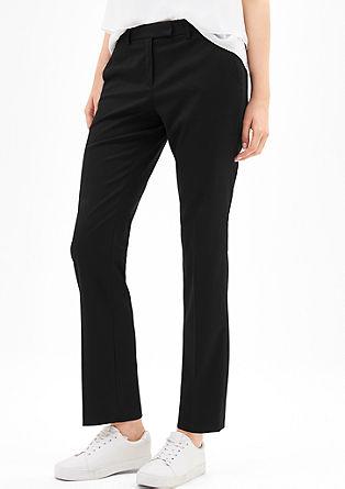 Kalhoty sjemnou texturou