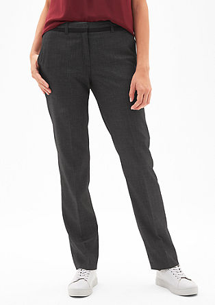 Eve Chino: end-on-end trousers from s.Oliver