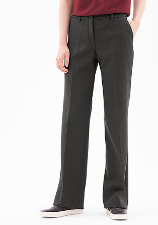 Rachel Straight: Business trousers from s.Oliver