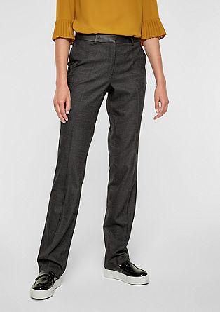 Rachel Straight: pantalon en fil-à-fil de s.Oliver