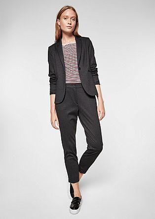 Rachel Straight: pantalon 7/8 en jersey de s.Oliver