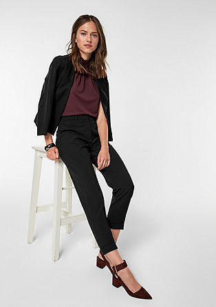 Rachel straight: elegante business pantalon