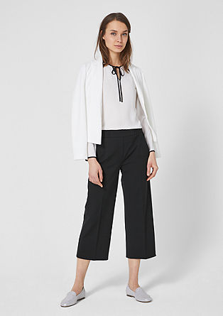 Culottes with an elasticated waistband from s.Oliver