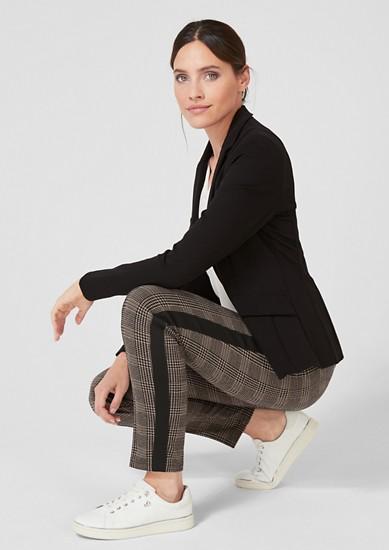 Sofia Slim: Elastische Karohose