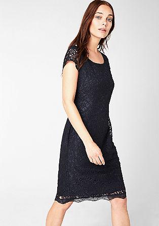Figurbetontes Spitzen-Kleid