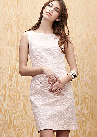 Cotton satin dress from s.Oliver