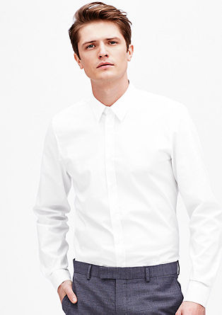 Slim: Stretch business shirt from s.Oliver