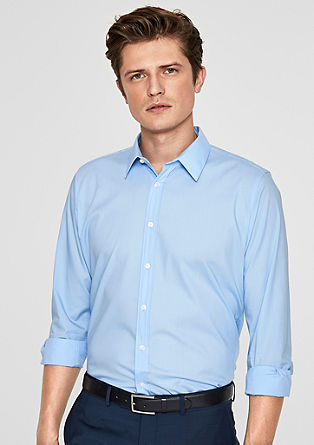 Slim: Simple stretch shirt from s.Oliver