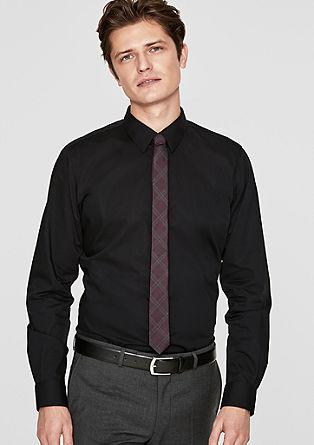 Slim: chemise stretch en popeline de s.Oliver