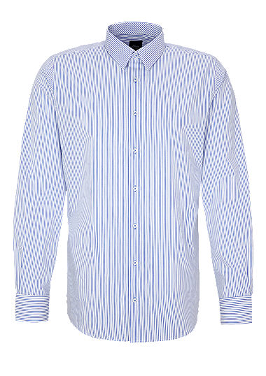 Slim: Striped business shirt from s.Oliver