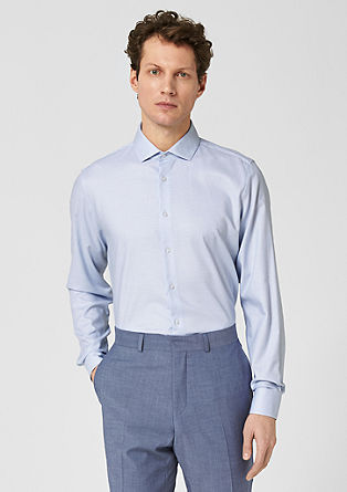 s.OSHAPED Slim: Business shirt from s.Oliver