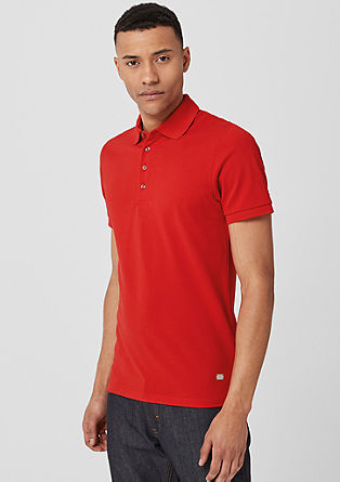 Piqué polo shirt from s.Oliver