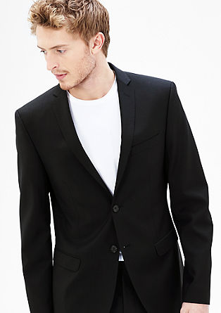 Slim: New wool jacket from s.Oliver