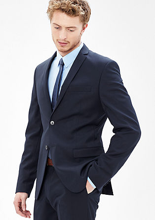 Slim fit: stretchy colbert