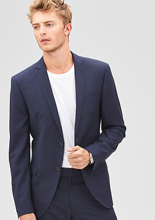 Slim: new merino wool jacket from s.Oliver