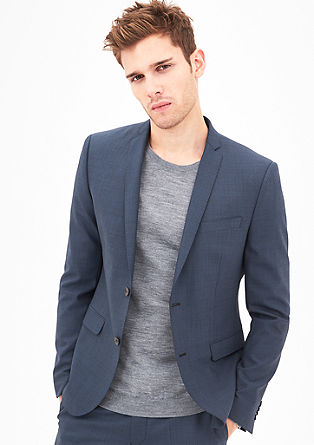 Cosimo Slim Flex: Stretchy tailored jacket from s.Oliver