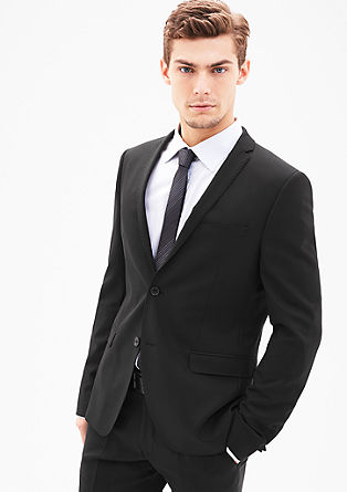 Cosimo Slim Flex: textured sports jacket from s.Oliver