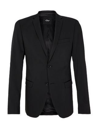 Cosimo Slim: jacket with a matte texture from s.Oliver