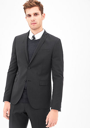 Cesano Slim: Jacket in new wool from s.Oliver