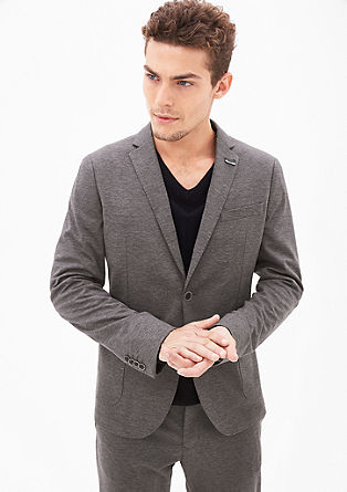 Tracksuit: melange suit jacket from s.Oliver