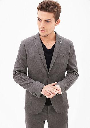 Jogg Suit: Meliertes Anzugsakko
