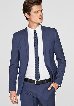 Cesano Slim: textured jacket from s.Oliver