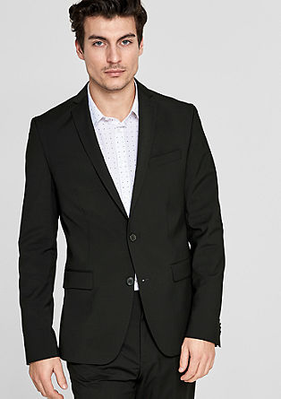 s.OBROKER Regular: Suit jacket from s.Oliver