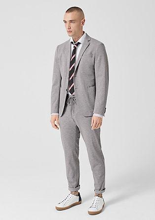 Jogg Suit Slim: strečové sako