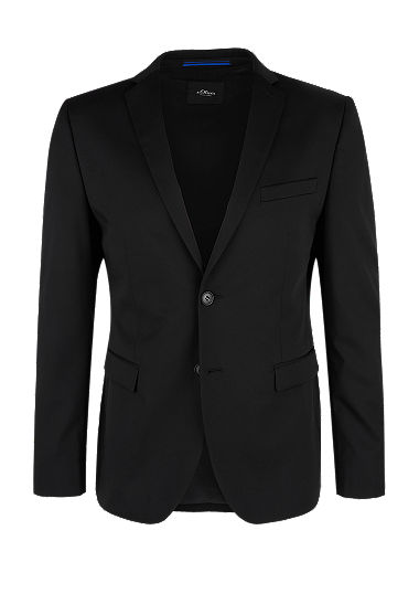 Slim: Washable suit jacket from s.Oliver