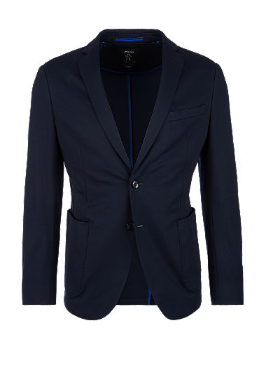 Slim:Stretchy tracksuit suit jacket from s.Oliver