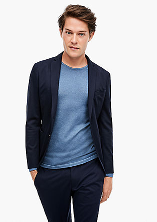 Slim: Stretchy tracksuit suit jacket from s.Oliver