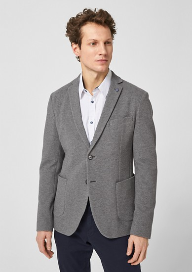 Slim: veste seule en jersey de s.Oliver