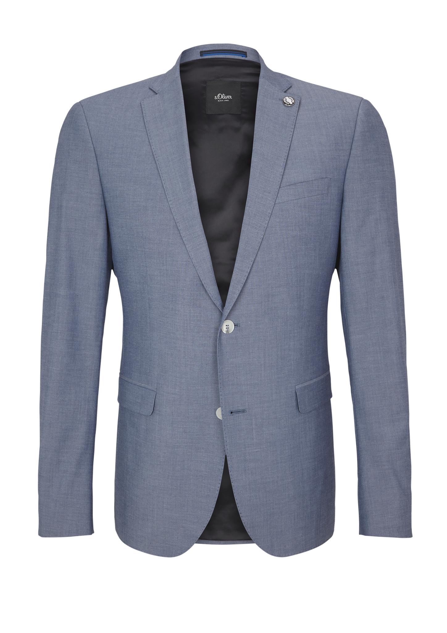 Sakko | Bekleidung > Sakkos > Sonstige Sakkos | Blau | Oberstoff: 65% polyester -  32% viskose -  3% elasthan| futter: 100% polyester | s.Oliver BLACK LABEL