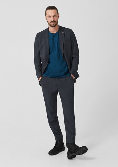 Slim: Lightweight suit jacket from s.Oliver