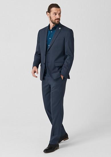 Regular: veston à motif texturé de s.Oliver