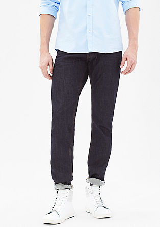 Stretto Straight: mottled jeans from s.Oliver