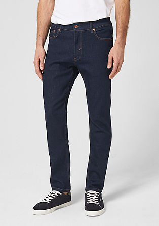 Slim: Rinse Washed-Jeans