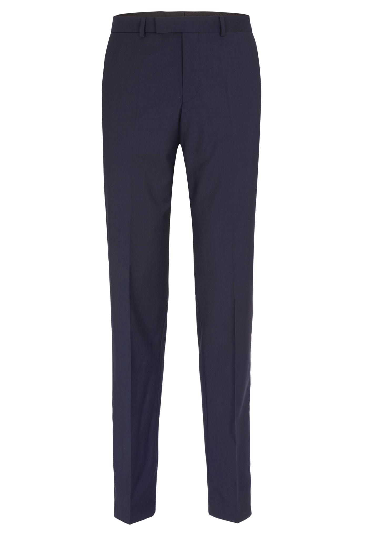 Businesshose   Bekleidung > Hosen > Sonstige Hosen   Blau   Obermaterial 100% schurwolle  futter 100% polyester   s.Oliver BLACK LABEL