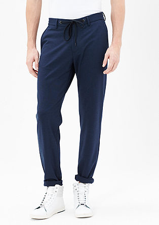 Slim fit: sportieve pantalon