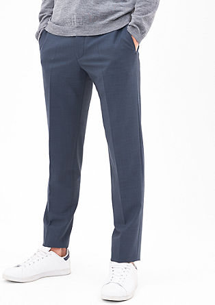 Cosimo Slim Flex: Business trousers from s.Oliver