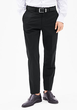 Cosimo Slim: trousers with a matte texture from s.Oliver