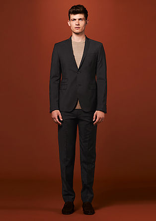Cesano Slim: New wool business trousers from s.Oliver
