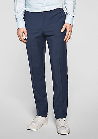 Cesano Slim: Pantalon en laine vierge de s.Oliver