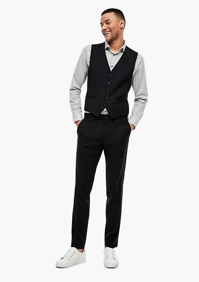 Slim: broek van scheerwol
