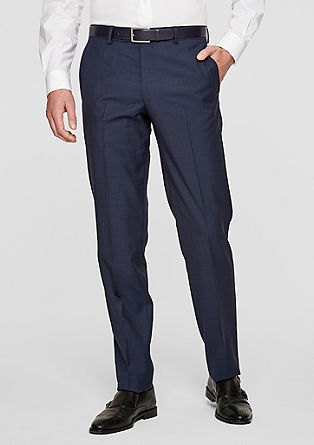 Padua Regular: new wool trousers from s.Oliver